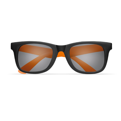 2 tone sunglasses in orange