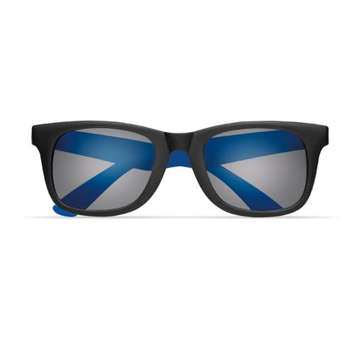 2 tone sunglasses in royal-blue