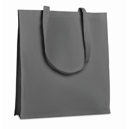 Shopping Bag With Gusset in grey