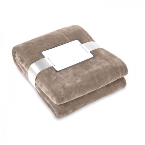 Blanket flannel in khaki