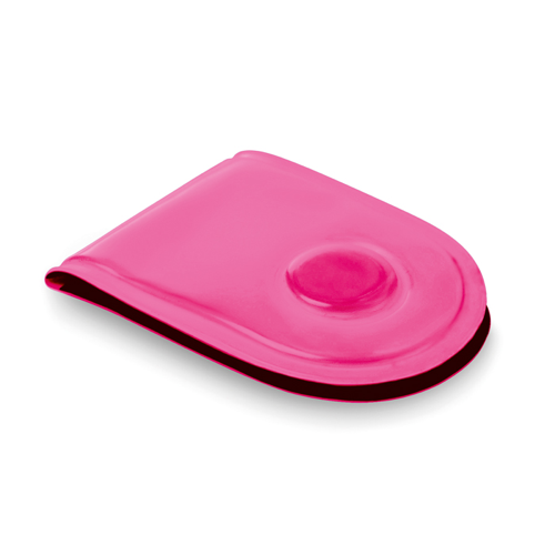 Led Safety Light With Magnet in neon-fuchsia