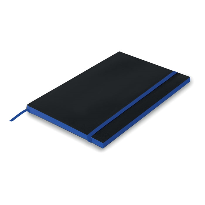 A5 Paper cover notebook lined in royal-blue