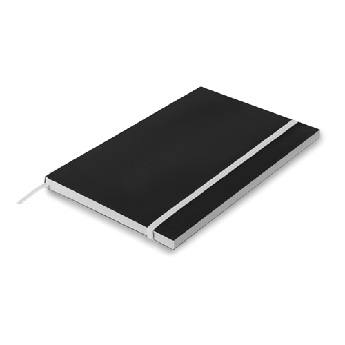 A5 Paper cover notebook lined in white