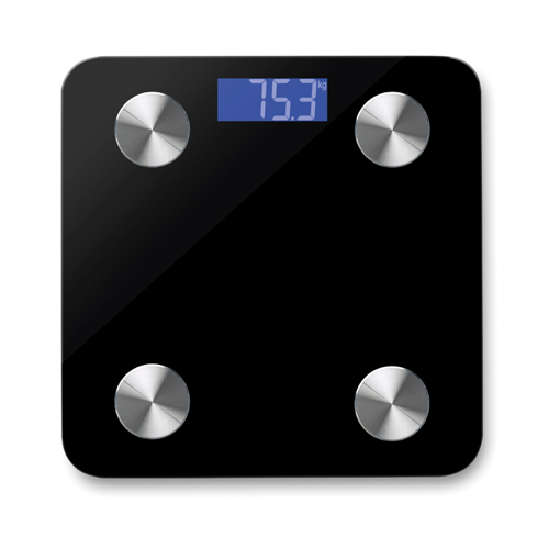 Bluetooth Scale in black