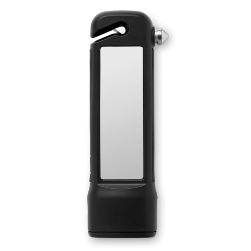 Emergency Hammer W/ 4400 Mah in black