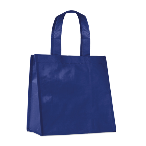 Small Pp Woven Bag in blue