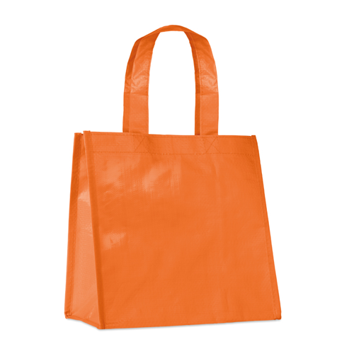Small Pp Woven Bag in orange
