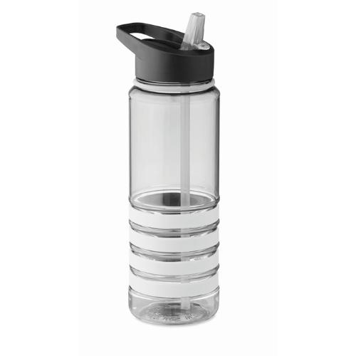 Tritan bottle 750ml             in white