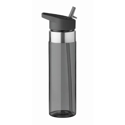 650 ml tritan bottle            in transparent-grey