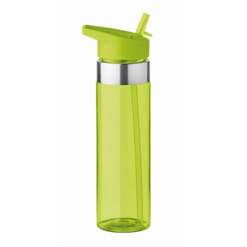650 ml tritan bottle            in transparent-lime