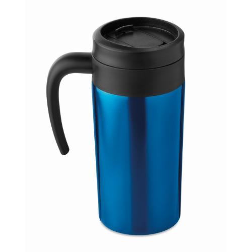 Small travel mug 340 ml         in blue