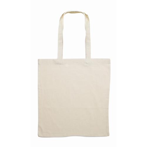 Cotton shopping bag 140gsm      in beige
