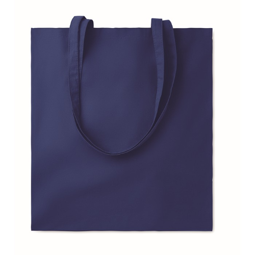 Cotton shopping bag 140gsm      in blue