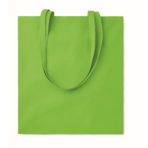 Cotton shopping bag 140gsm      in lime