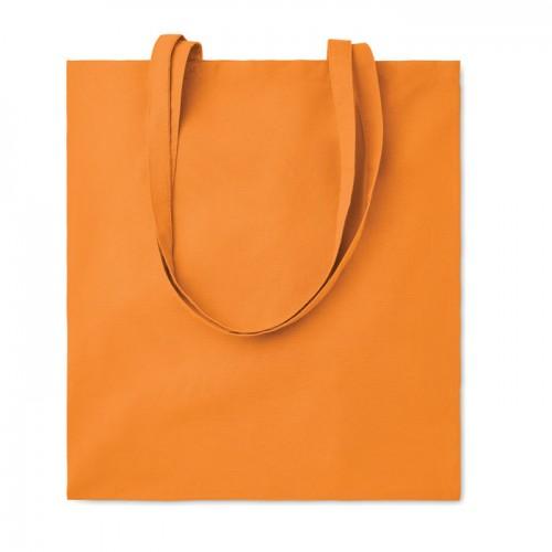 Cotton shopping bag 140gsm      in orange