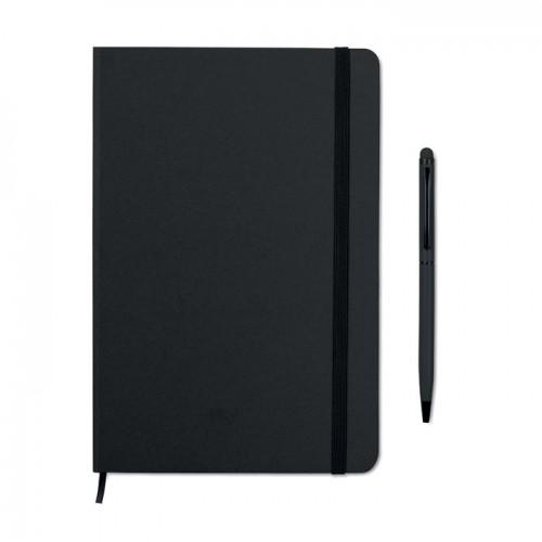 Notebook set in black