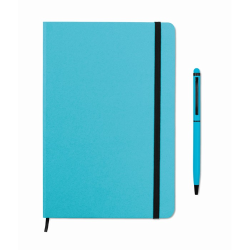 Notebook set in turquoise