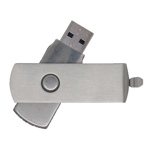 Metal Twister USB Flash Drive