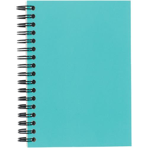 Langton A6 Card Notebook in aqua