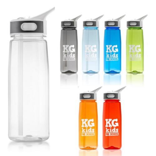 Aqua 800ml water bottle in