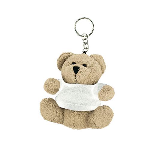 Mini Softplush Bear With Keychain
