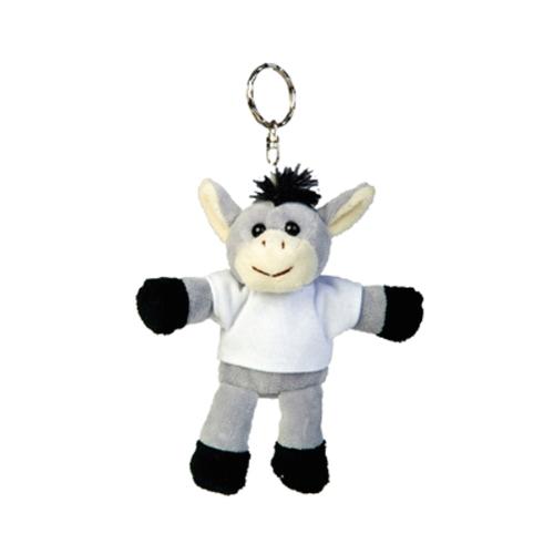 Plush Keychain Donkey