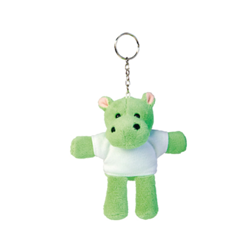 Plush Keychain Hippo