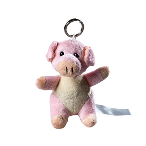 Plush Keychain Pig