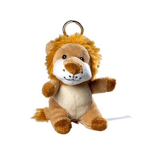 Plush Keychain Lion