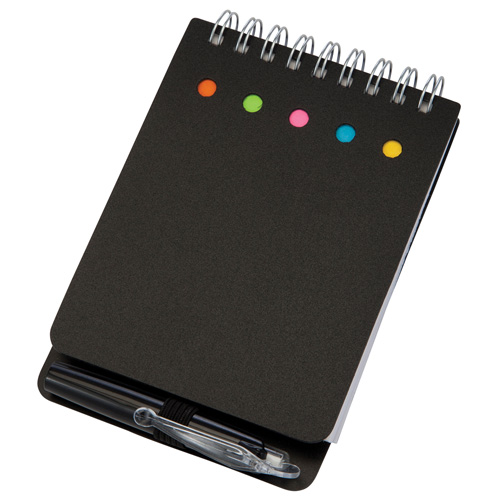 Kent Notebook in black