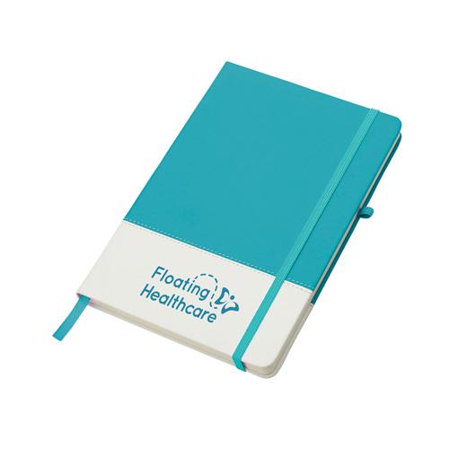 Colours Notebook in aqua