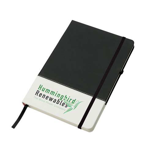 Colours Notebook in black