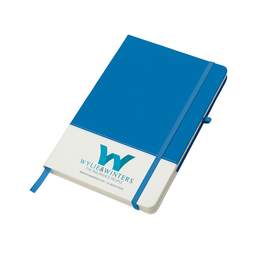 Colours Notebook in blue