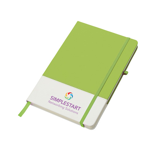 Colours Notebook in lime