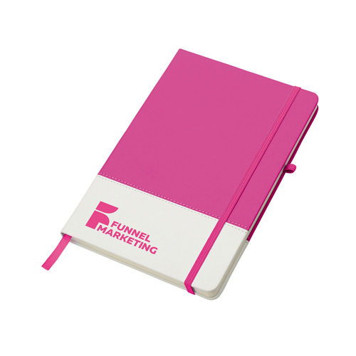 Colours Notebook in pink