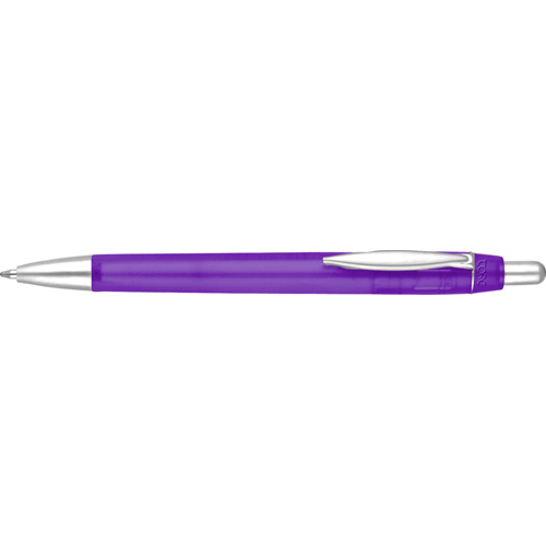 Albany Frost Ballpen in purple