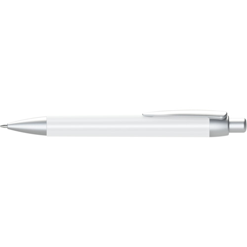 Abacus Ballpen (Full colour Wrap) Logo Clip 1 (FCP or LCP) in white