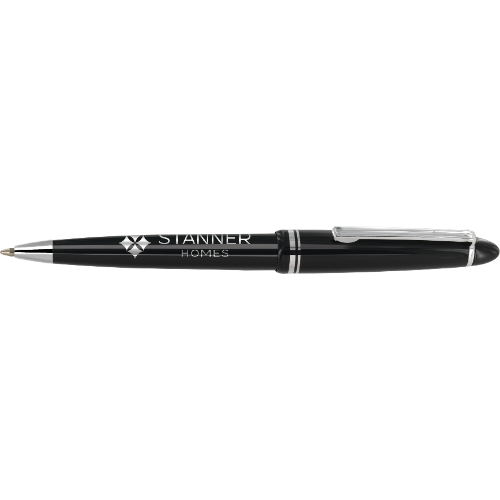 Alpine Chrome Ballpen in white