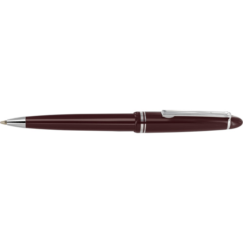 Alpine Chrome Ballpen in burgundy
