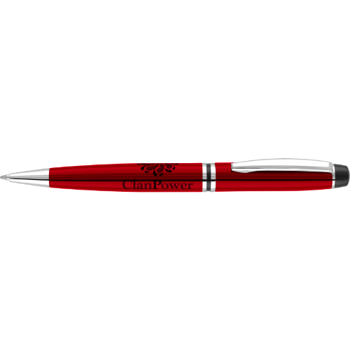 Churchill Ballpen in red