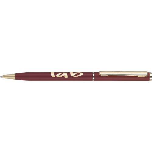 Cheviot Oro Ballpen in white