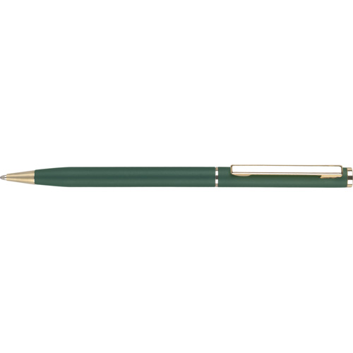 Cheviot Oro Ballpen in green