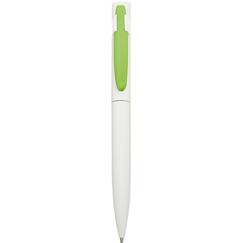 Harlequin Ballpen in white-lime-clip