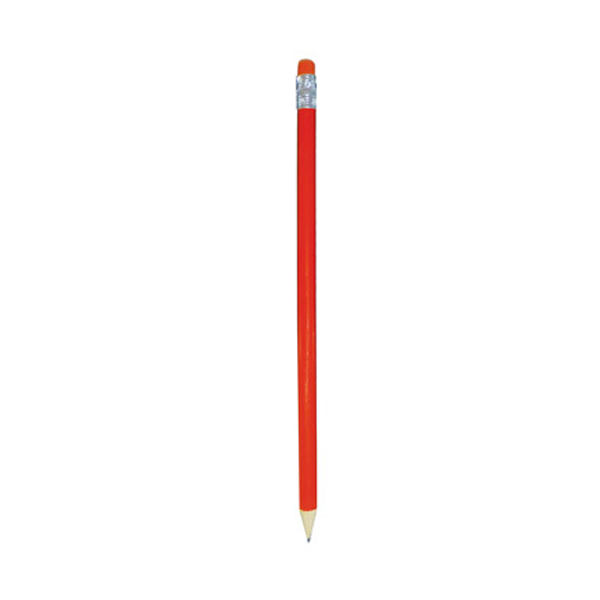 Pricebuster Round Pencil in orange