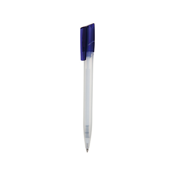 Tornado Pen in frosted-white-and-dark-blue