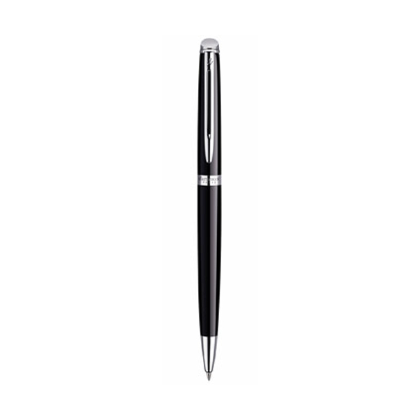 Waterman Hémisphère Essential Ballpen in black-and-chrome