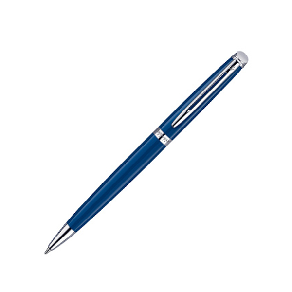 Waterman Hémisphère Essential Ballpen in blue-and-chrome