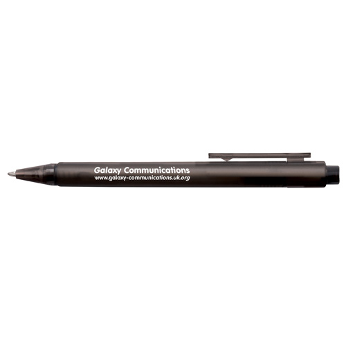 Frosted Calypso Ballpen in frost-black
