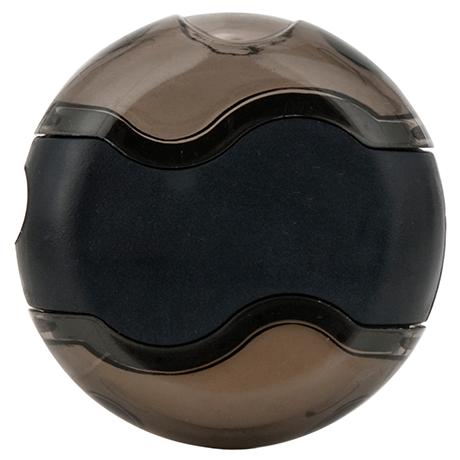 Wave Sharpener & Eraser in black