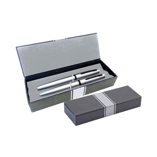 Onyx Double Pen Box in closed